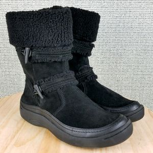 Earth Spirit Bria 2533799 Leather Winter Zip Boots